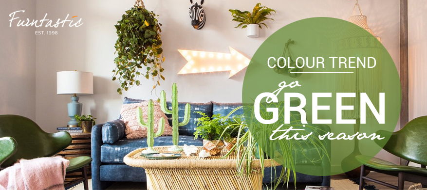 Colour Trend: Go Green this Season