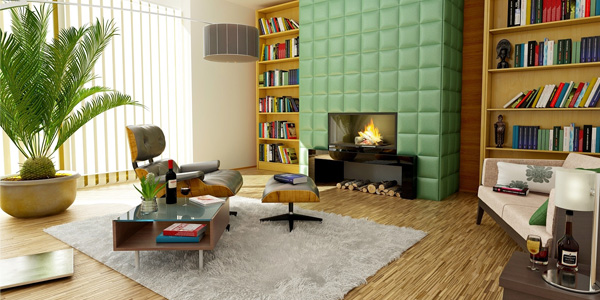 Bold Look for the Living Room