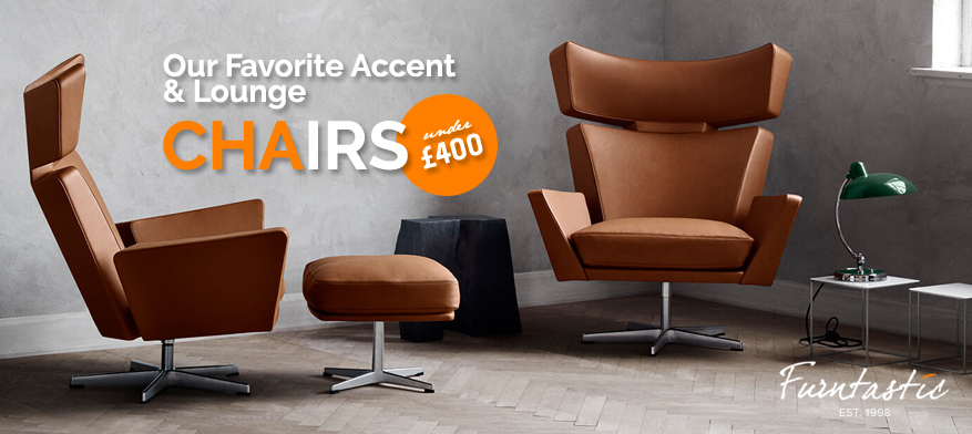 Our Favorite Accent & Lounge Chairs Under £400