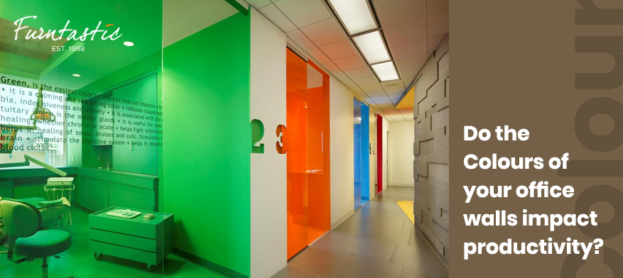 Do the Colours of  Your Office Walls Impact Productivity?
