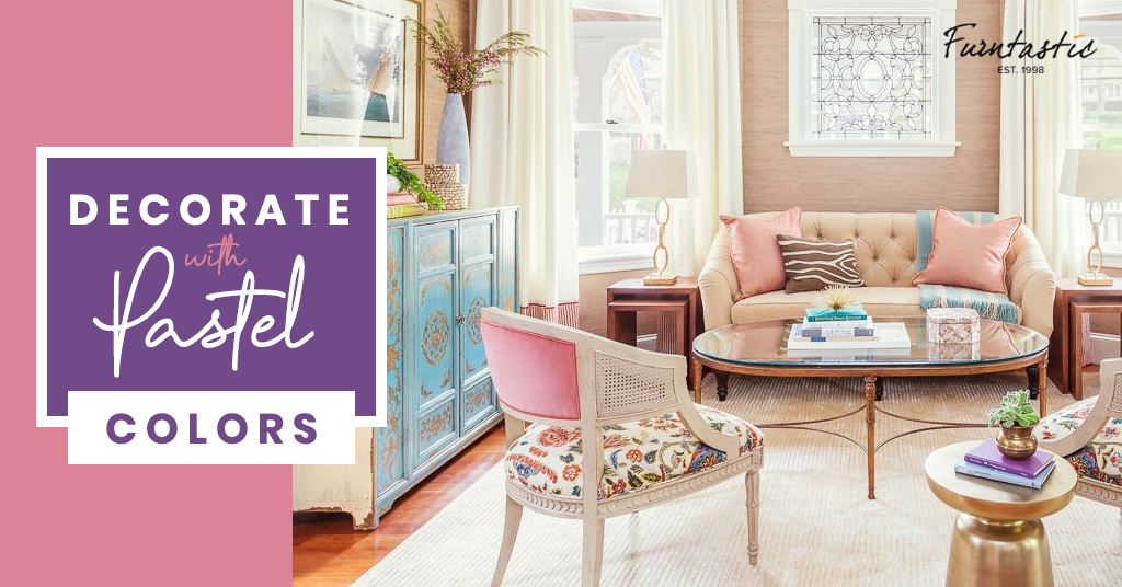 Decorate with Pastel Colours