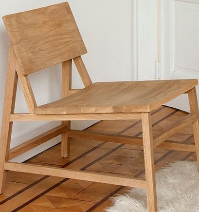 Ethnicraft Oak N2 Lounge Chair