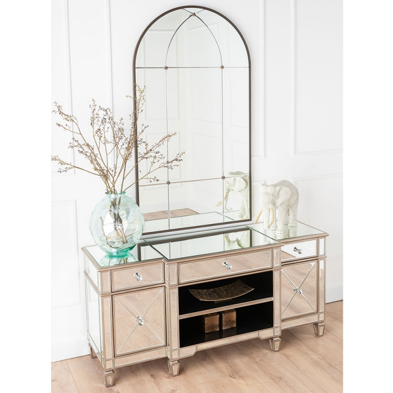 Versailles Venetian Mirrored Entertainment Unit