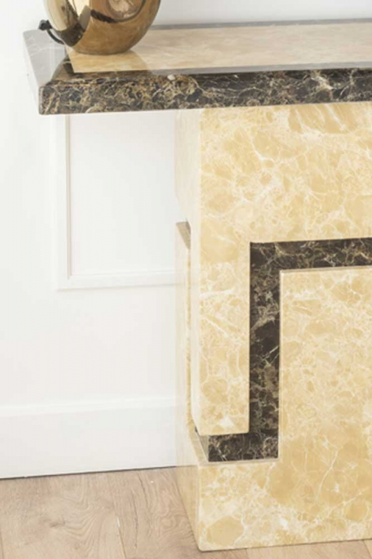 Florence Cream Marble Console Table